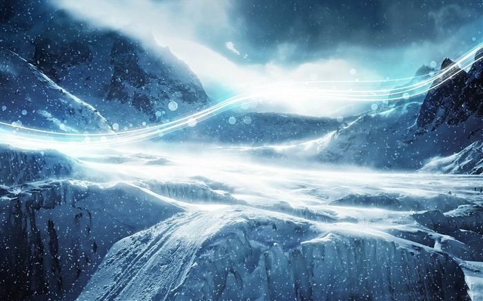 MBP winter-Creative Design Wallpapers Views:4825