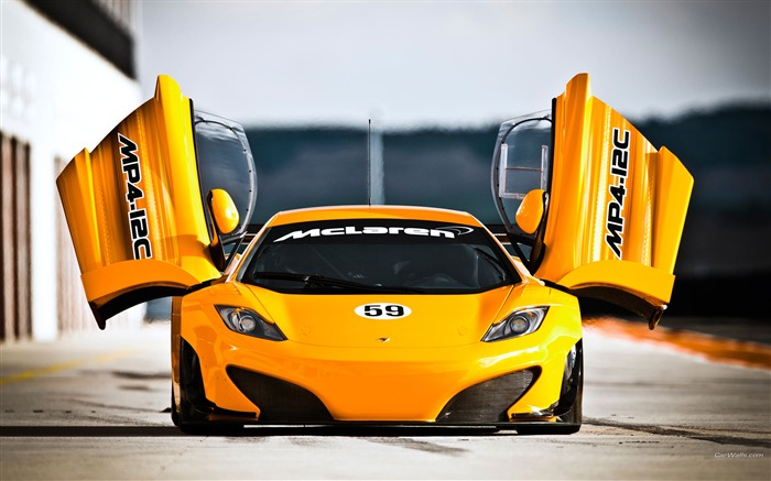 McLaren MP4-12C GT3 Auto HD Wallpaper Views:7649