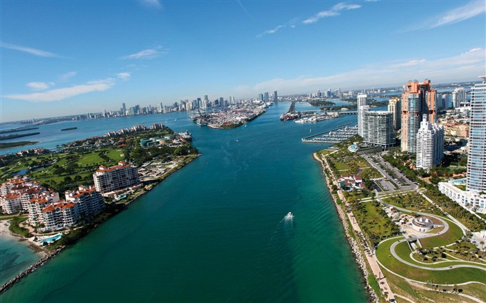 Miami Florida-Urban Landscape Wallpaper Views:18327