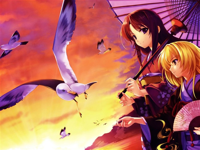 Anime character design wallpapers Views:8971