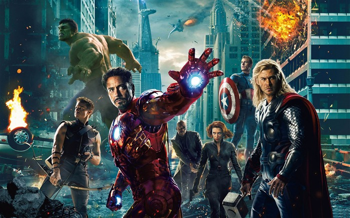 The Avengers 2012 HD Wallpapers Views:39162