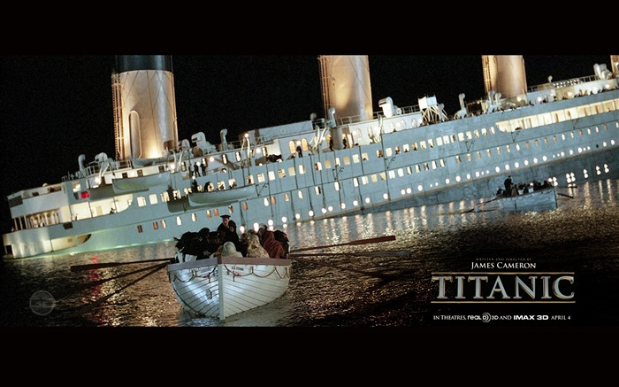 Titanic 3D high-definition movie Wallpapers 01 Views:19409