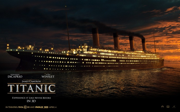Titanic 3D high-definition movie Wallpapers 05 Views:13135