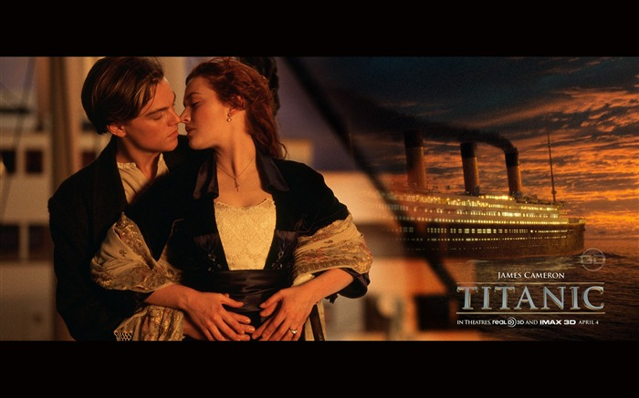 Titanic 3D high-definition movie Wallpapers Views:17138