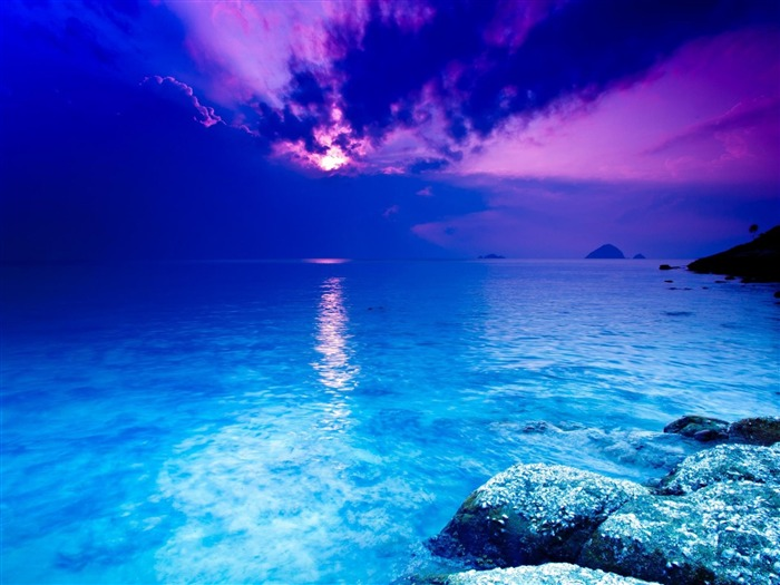 crystal blue-world beautiful scenery wallpaper Views:147006