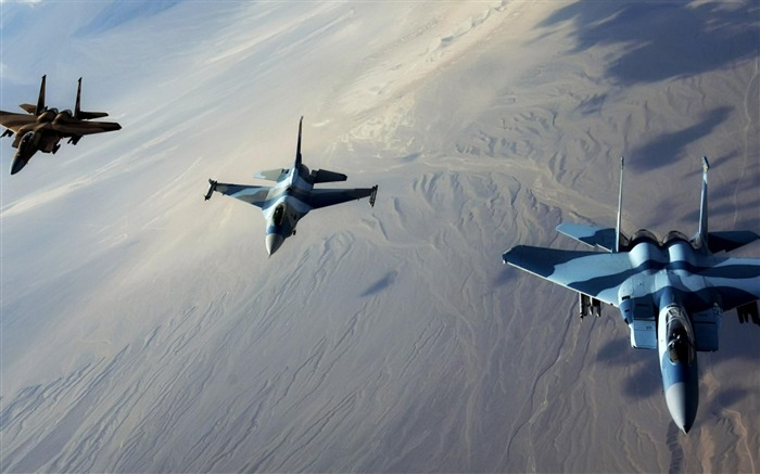 fighter jets-Military aircraft wallpaper Views:7180
