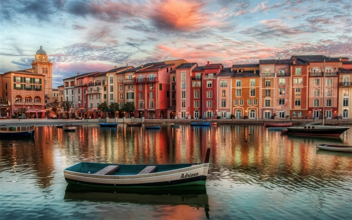 portofino italy-Urban Landscape Wallpaper Views:22253