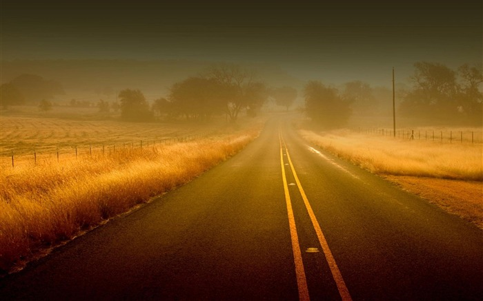 road to nowhere-Nature Scenery Wallpaper Views:4626