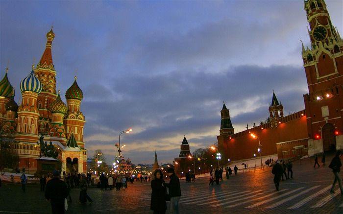 russia-Urban Landscape Wallpaper Views:26768