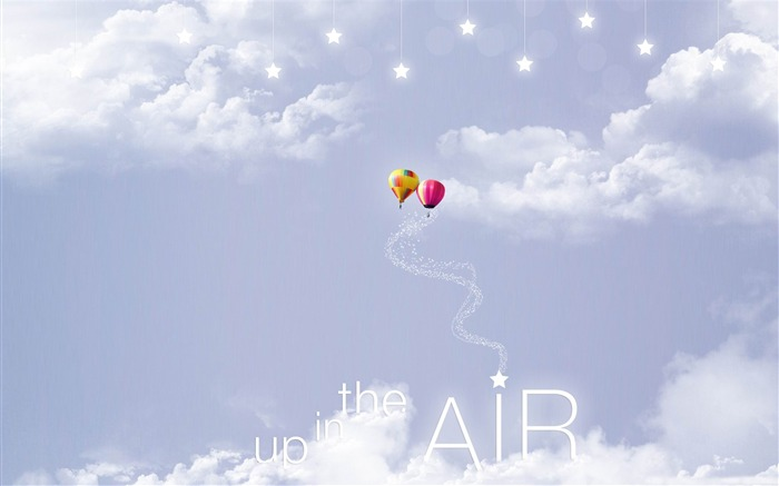 up in the air-Creative Design Wallpapers Views:6013