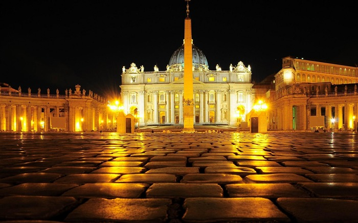 vatican city-Urban Landscape Wallpaper Views:20333