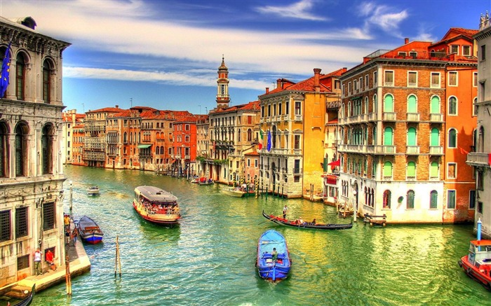 venice italy-Urban Landscape Wallpaper Views:67905