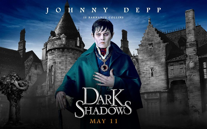 Dark Shadows 2012 American TV series HD Wallpaper Views:13692