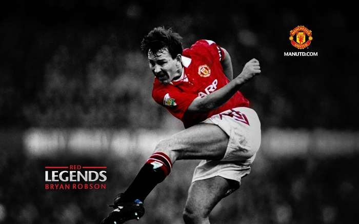 Red legends manchester united official wallpaper album list page1 bryan robson red legends manchester united wallpaper views24914 date2012 voltagebd Choice Image