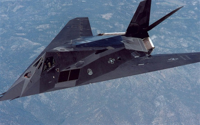 F 117 Nighthawk Lockheed-Military aircraft wallpaper Views:27573