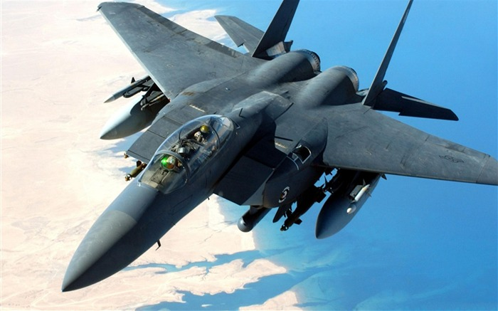 F 15 Eagle Aircraft-Military aircraft HD wallpaper Views:11413