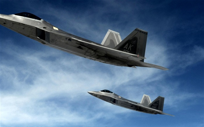 F 22 raptor stealth-Military aircraft wallpaper Views:7457