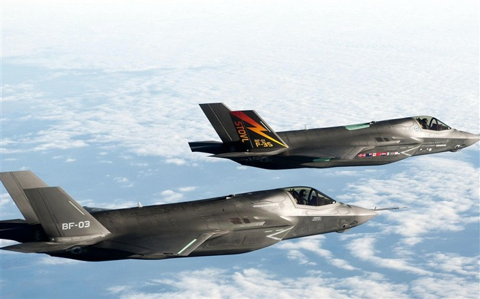 F 35 BF 1 Fighter-Military aircraft HD wallpaper Views:7304