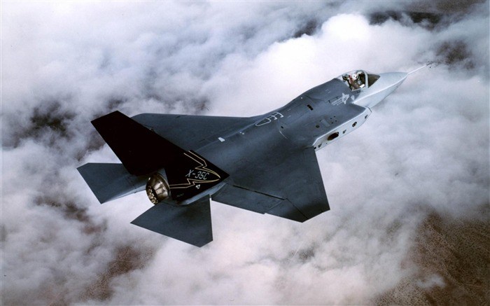 F 35 aircraft-Military aircraft wallpaper Views:9327