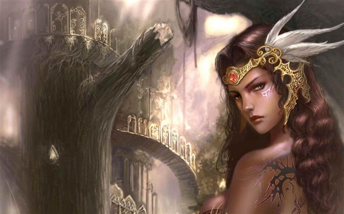 Fantasy Girl-Artistic creation design wallpaper Views:7004 Date:5/6/2012 3:30:01 PM