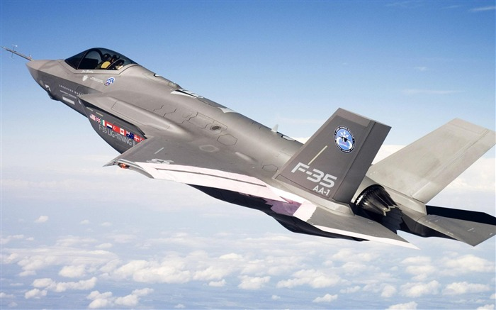 Fighter F 35-Military aircraft wallpaper Views:19088