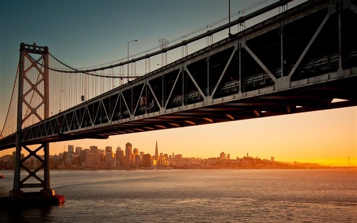 Golden Gate Bridge-city architecture wallpaper Views:6967