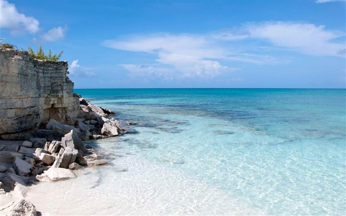 Half Moon Bay Turks and Caicos-Landscape photography wallpaper Views:5345