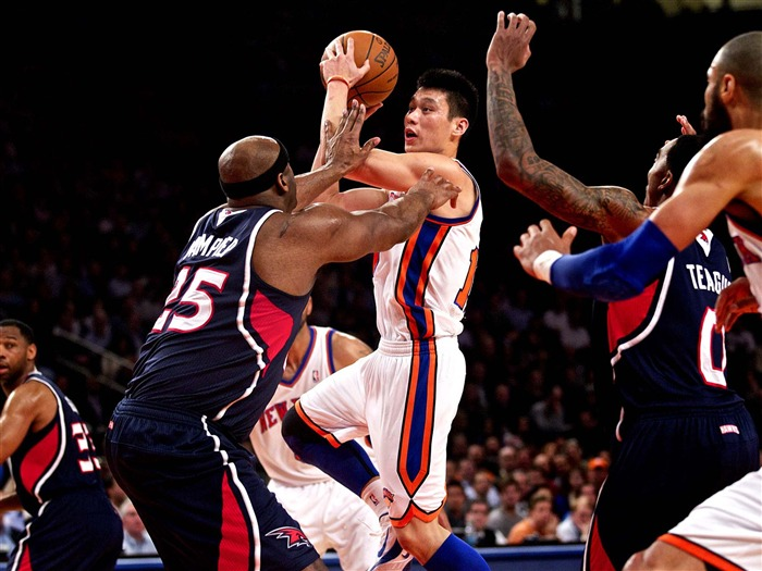Jeremy Lin-NBA New York Knicks wallpaper 11 Views:5460