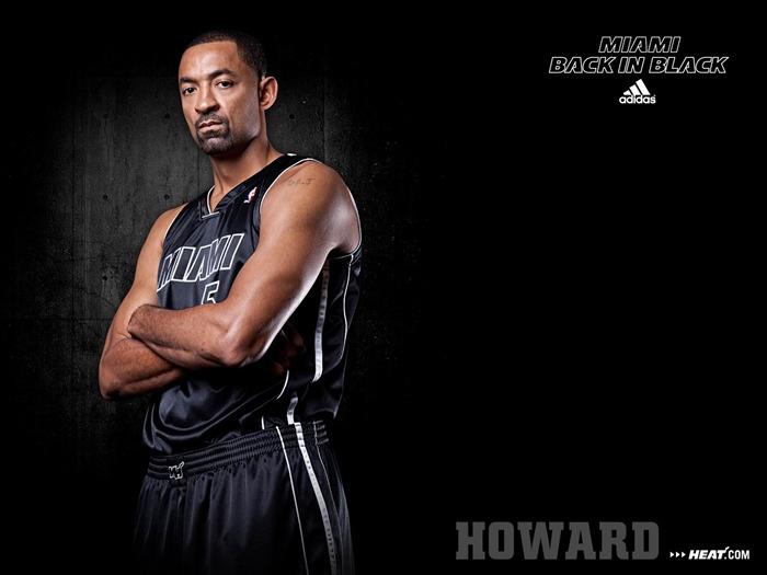 朱万·霍华德-2011-12赛季NBA热火壁纸-2011 12赛季NBA热火壁纸