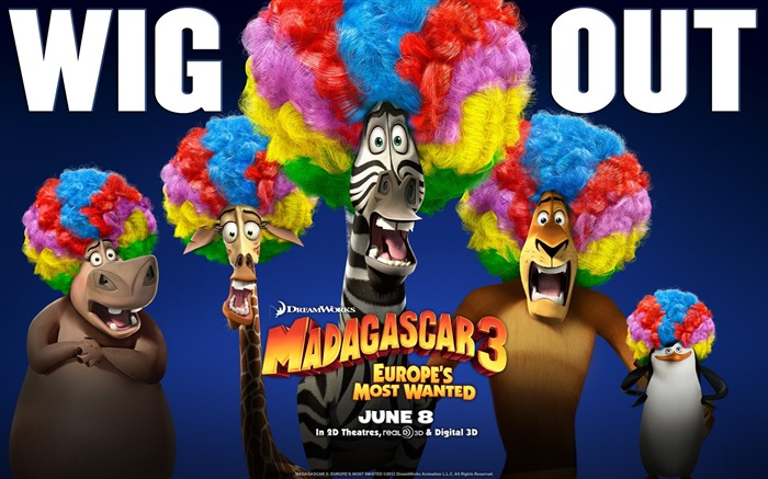 Madagascar 3 Europes Most Wanted Movie Wallpaper Views:10683