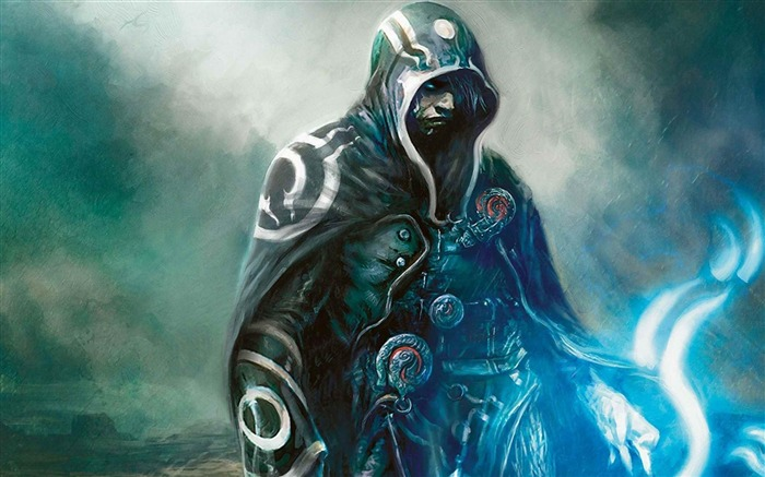 Magic the Gathering Jace Beleren-Artistic creation design wallpaper Views:33273 Date:5/6/2012 3:33:49 PM