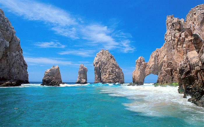 Mexico beaches-natural scenery wallpaper Views:63781