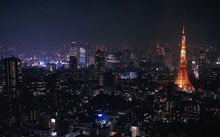 Night Tokyo Tower-City Travel wallpaper Views:35866 Date:5/24/2012 11:19:50 PM