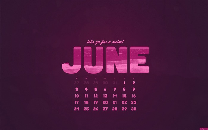 June 2012 calendar desktop themes wallpaper Views:9927