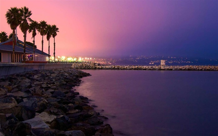 Redondo Beach LA-Landscape photography wallpaper Views:7935