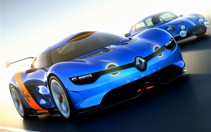 Renault Alpine A110-50 Concept Car Wallpaper Views:8661