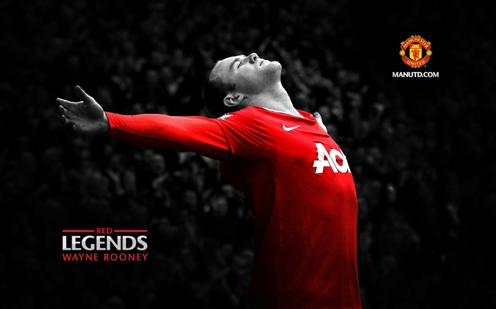 Red Legends-Manchester United  official wallpaper Views:26173