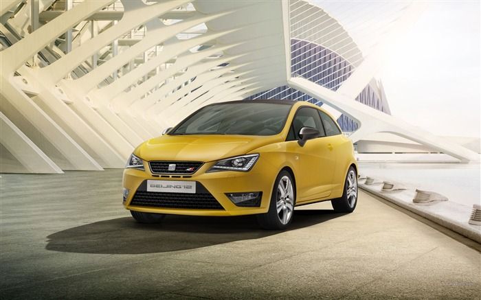 Seat Ibiza Cupra Concept Car HD Wallpaper Views:10100