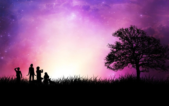 Star childhood romantic background-Artistic creation design wallpaper Views:8730 Date:5/6/2012 3:36:08 PM