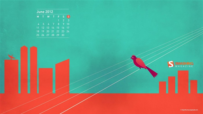 Without Angry-June 2012 calendar wallpaper Views:2322