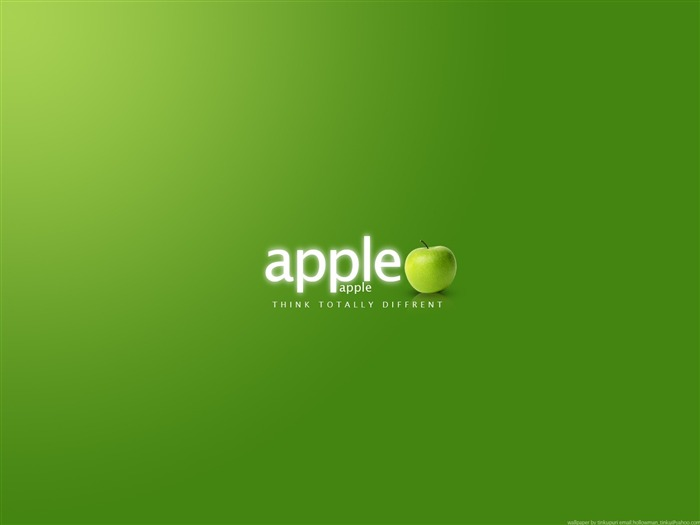 apple green-Brand advertising wallpaper Views:7050