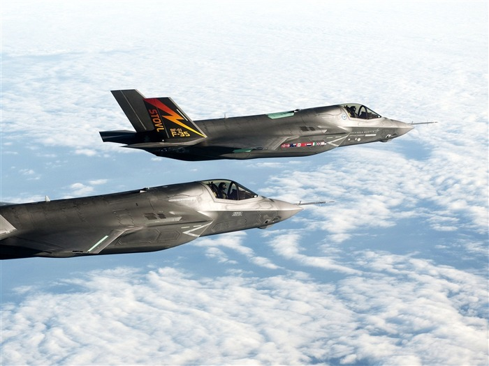 Bf 1 F 35 Fighters Military Aircraft Wallpaper Views13965 Date2012
