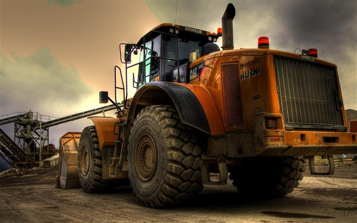 bulldozer-transport photography wallpaper Views:9241
