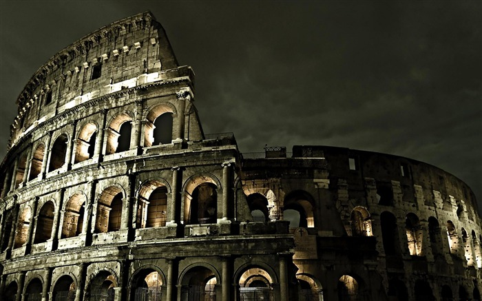 colosseum-city architecture wallpaper Views:10299