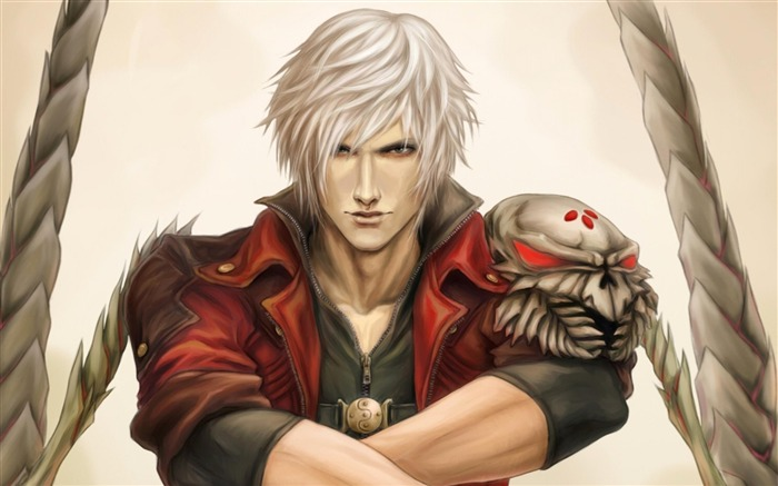 dante skull-Cartoon characters wallpaper Views:8002