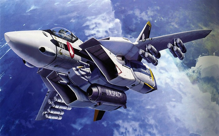 fighter aircraft anime-Military aircraft HD wallpaper Views:36851