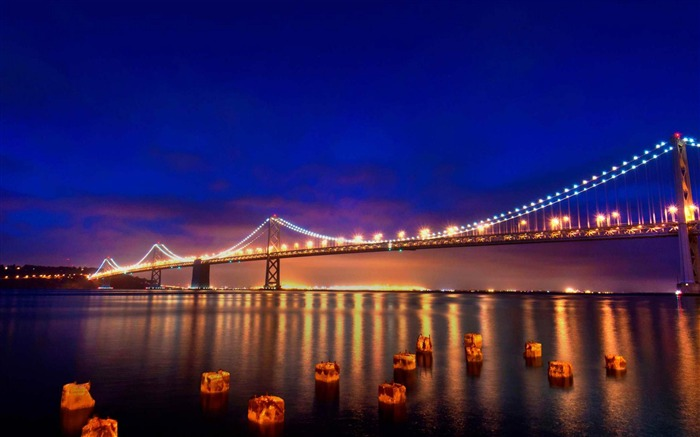 freezing San Francisco-Landscape photography wallpaper Views:4765