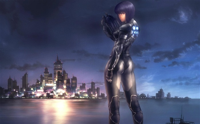 ghost in the shell-Cartoon characters wallpaper Views:30739