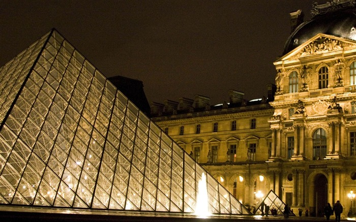 louvre france-city architecture wallpaper Views:8532