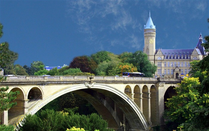 luxembourg-city architecture wallpaper Views:6400